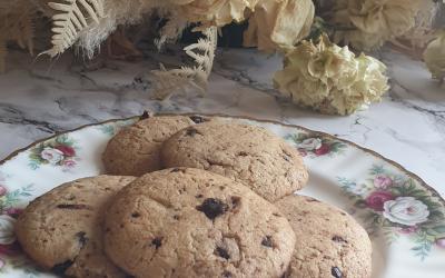 Biscotti tahina e cioccolato a basso FODMAP